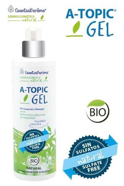 A-TOPIC GEL CORPORAL Y CHAMPU 400ML