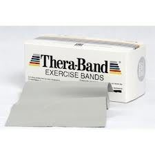 THERA BAND 5 5M PLATA ATLETICA